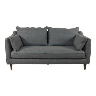 Compact Modern Gray Sofa