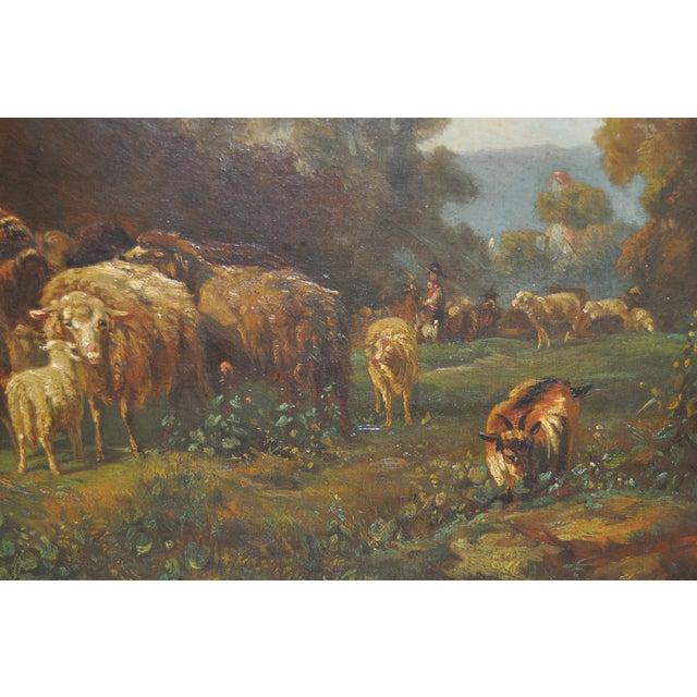 Image of 19th Century Shepherdess Painting