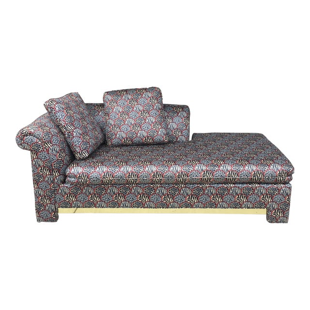 Mid-Century Chaise Lounge - Image 1 of 11