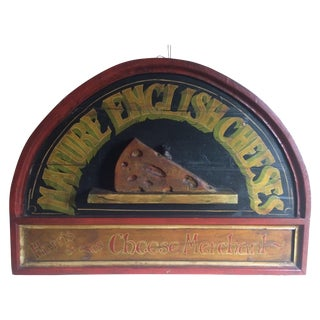 Vintage Cheese Sign