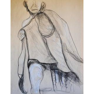 1960s Original Drawing by Myrna Nobile