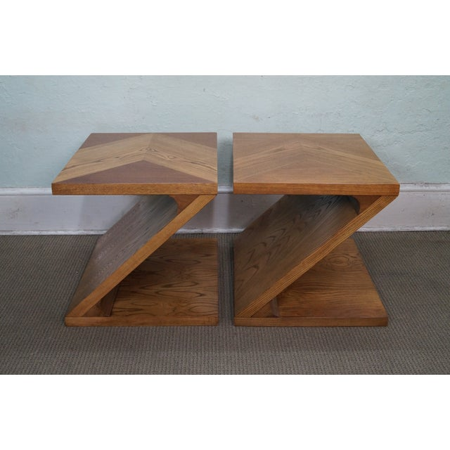 American Mid Century Modern Atomic Age Small Patio Round: Lane Mid-Century Modern Z End Tables