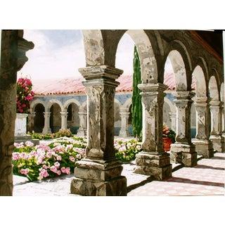 Entre Arcos, Lithograph by Altino Villasante