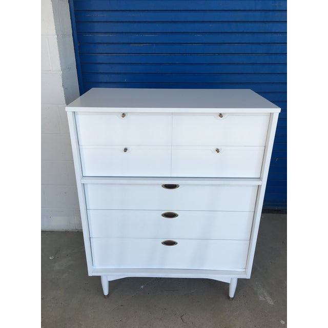 Hooker Mid-Century Lacquered White Chest - Image 4 of 8
