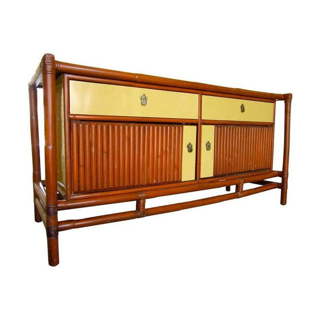 Image of Mid-Century Asian-Style Sideboard