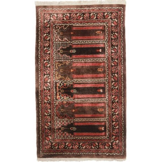 RugsinDallas Hand-Knotted Silk Chinese Rug - 2′9″ × 4′9″