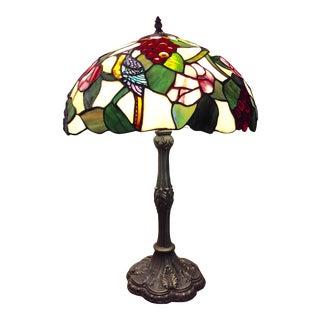 Vintage Tiffany Style Handmade Lamp