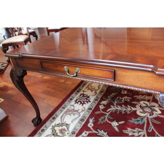Henredon Rittenhouse Mahogany Dining Room Table   Chairish