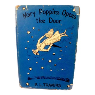 Mary Poppins Opens The Door by P. L. Travers, First Edition 1943