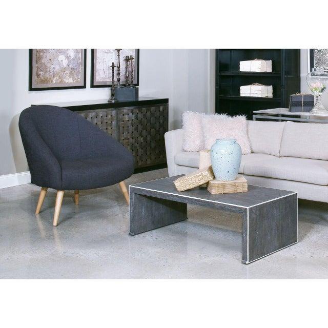 Image of Sarreid LTD Black 'Billionaire' Chair