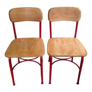 Vintage Heywood Wakefield Side Chairs - Set of 4