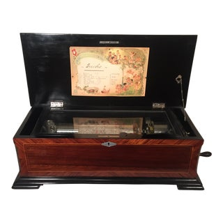 Swiss Piccolo Music Box