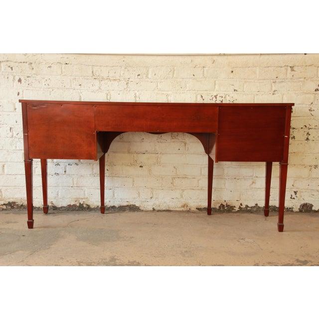 Kindel furniture winterthur inlaid mahogany sideboard for Sideboard fa r wohnzimmer