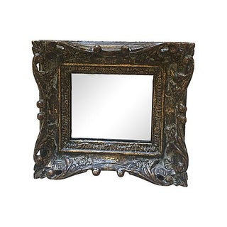Small Carved Gilt Mirror