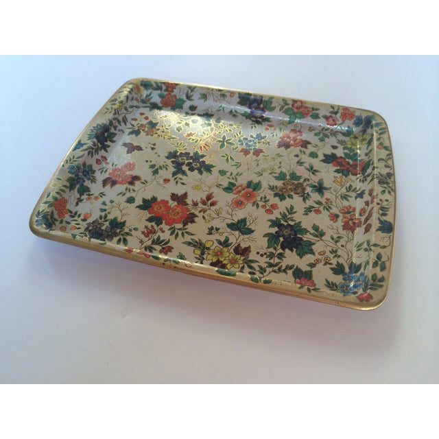 Dasher Decorated Ware Floral Tray - Image 2 of 8