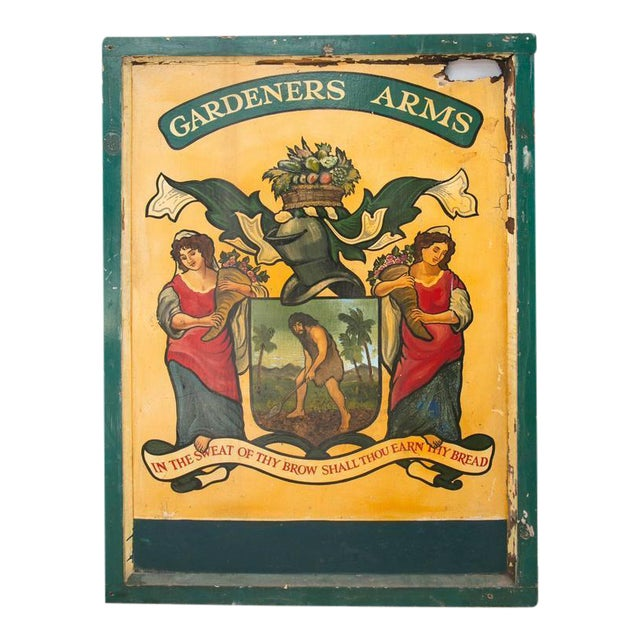 """English Pub Sign """"Gardeners Arms"""" - Image 1 of 7"""