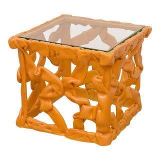 Decorative Resin Side Table
