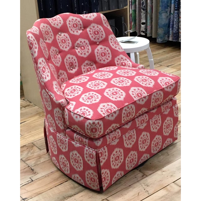 Thibaut Brentwood Swivel Chair Showroom Sample - Image 6 of 6