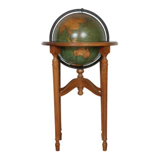 1940's Globe and Stand