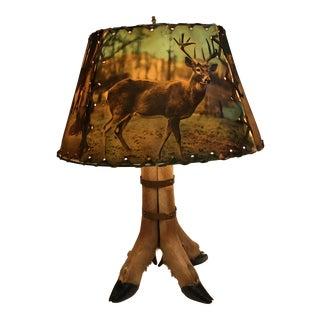 50s Deer Hoof Lamp