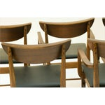 Image of Mid Century Modern Bassett Dining Chairs - S/5