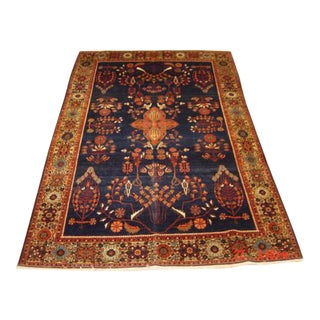 Antique Farahan Sarouk Persian Rug - 4′3″ × 6′7″