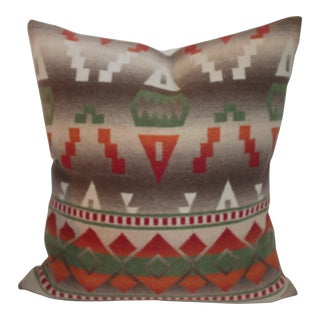 Natural Colored Pendleton Pillow