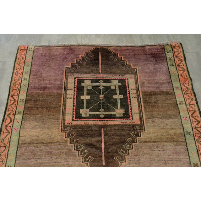 Hand Knotted Turkish Kars Rug - 5′9″ × 13′11″ - Image 6 of 11