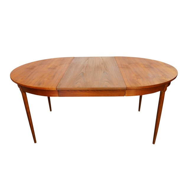 Rosengaarden Teak Dining Table with Leaf - Image 1 of 7