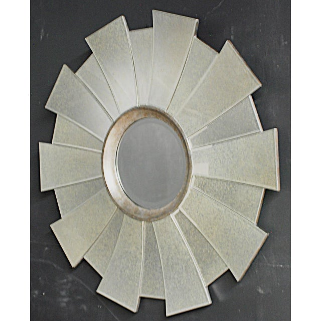 Contemporary Regency Sunburst Mirror - Image 2 of 3
