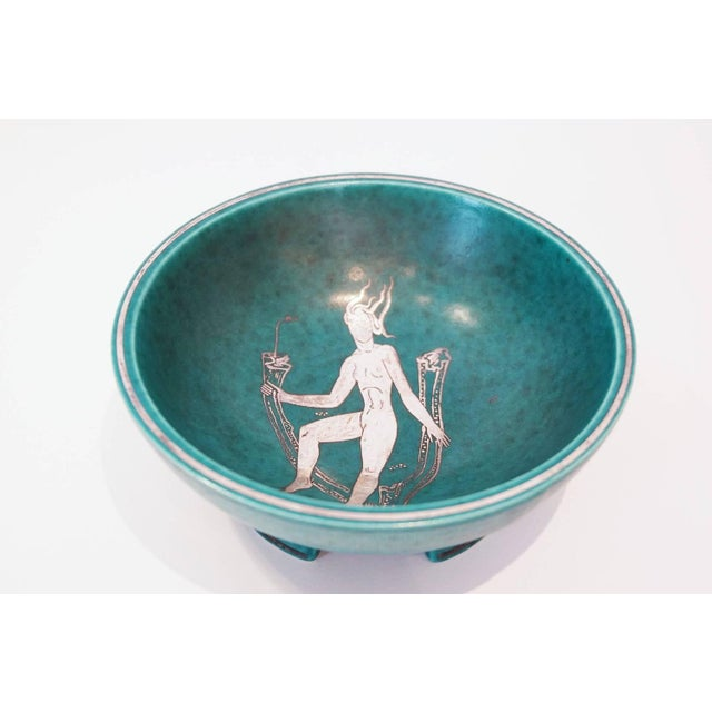 Gustavsberg Argenta Footed Bowl - Image 2 of 4