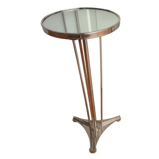 French Moderne Accent Side Table