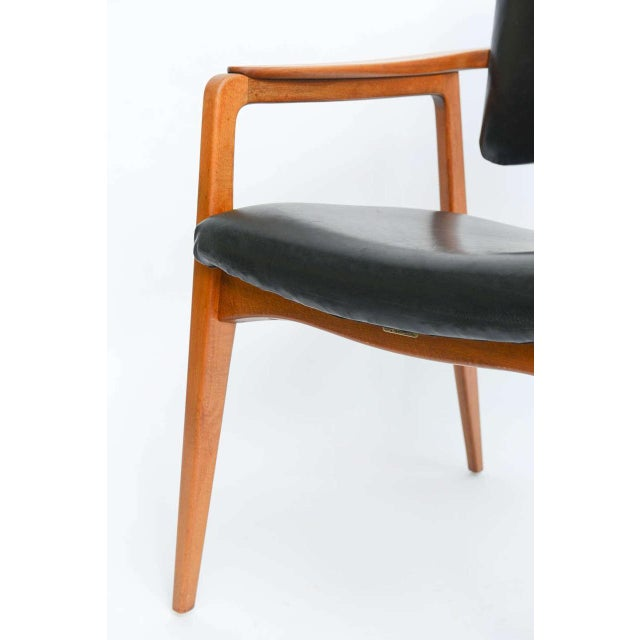Sigvard Bernadotte Teak Lounge Armchair for France & Daverkosen - Image 6 of 9