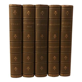 Charles Kingsley Books - Set of 5