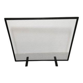 Restoration Hardware Courchevel Fireplace Mesh Screen Panel
