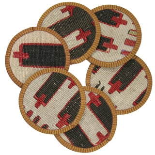 Züheyr Kilim Coasters - Set of 6