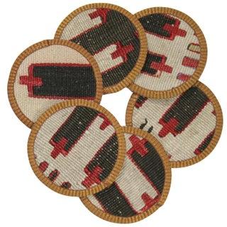 Züheyr Kilim Coasters - Set of 6