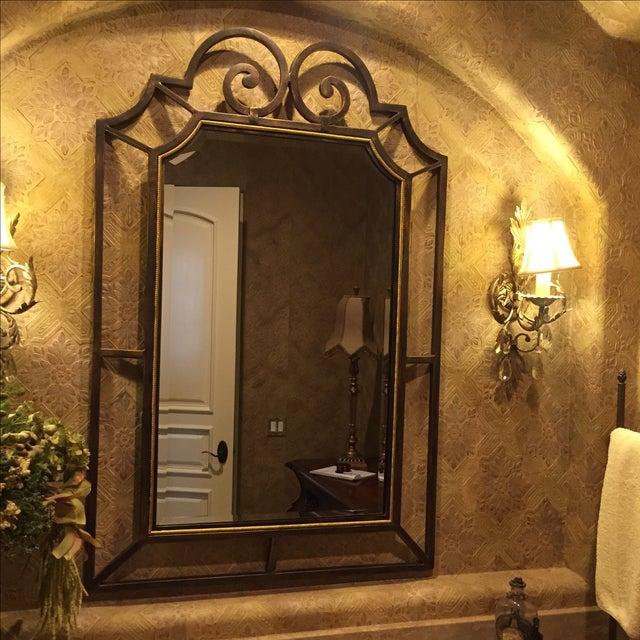 Theodore Alexander Beveled Mirror - Image 3 of 6