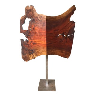 Live Edge Floor Lamp