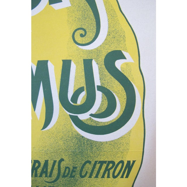 French Vintage Alcohol Ad, Citron Camus - Image 4 of 5