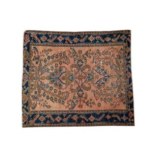 Antique Lilihan Square Rug- 5' x 5'9""