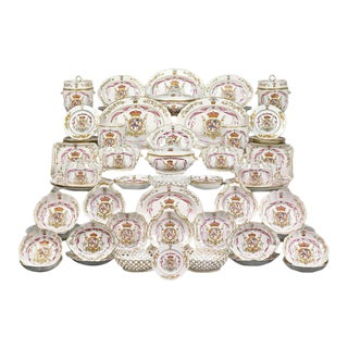 Duke of Hamilton Porcelain Service by Derby and Duesbury