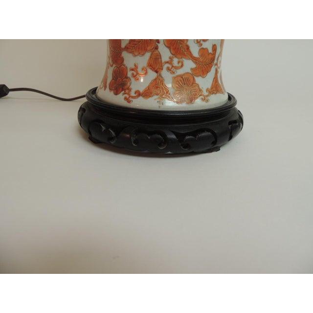 Imari Floral Porcelain Tall Table Lamp - Image 4 of 7