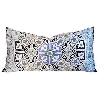Custom Tailored Italian Silk Andalusian Moorish Feather/Down Pillow