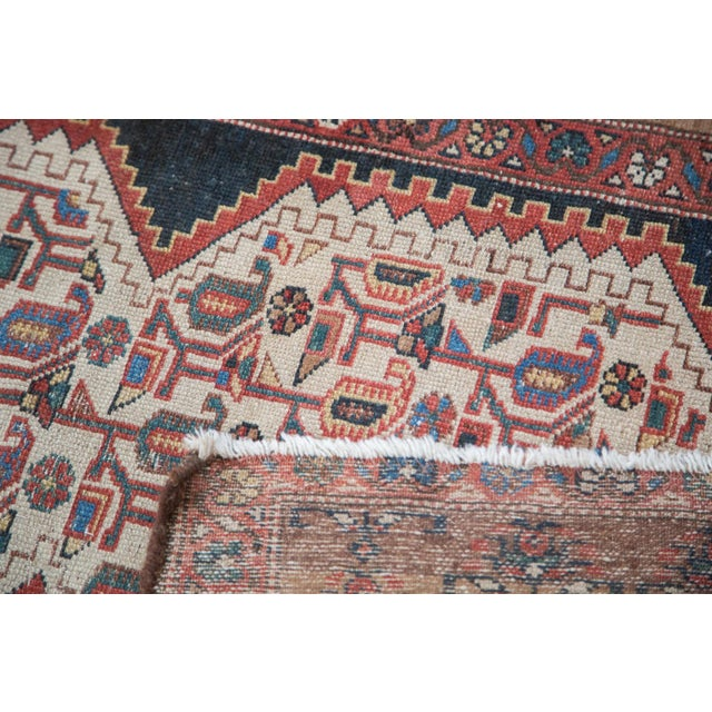 """Distressed Malayer Runner - 3'4"""" X 9'2"""" - Image 7 of 10"""
