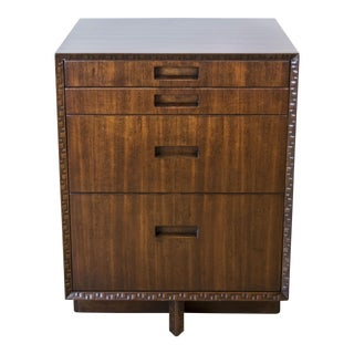 Four-Drawer Nightstand or Small Chest by Frank Lloyd Wright