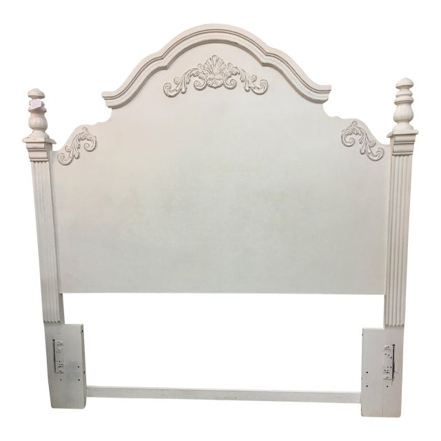 White Queen or Full Headboard - Image 1 of 3