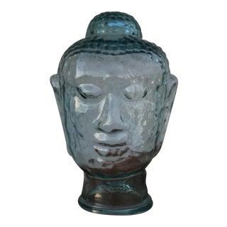 Buddhist Glass Head Figure