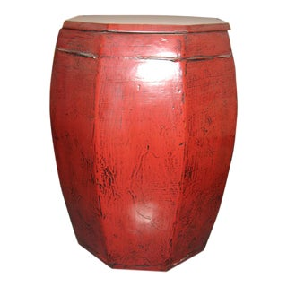 Drum Stool With Lid