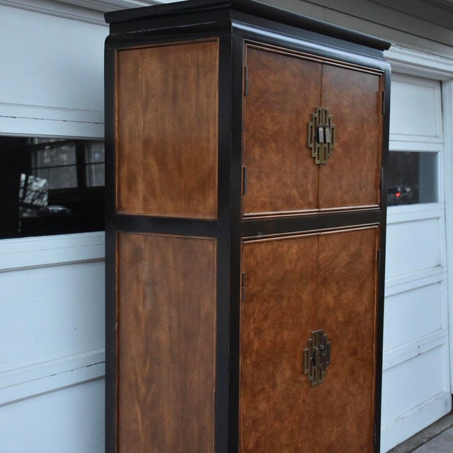 Century Furniture Chin Hua Collection Armoire - Image 9 of 11